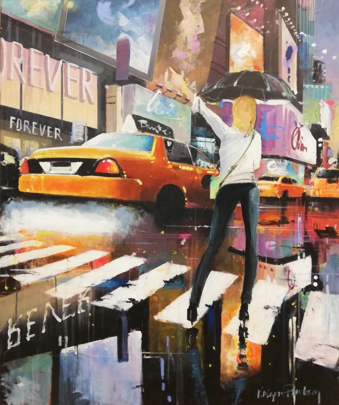 Manhattan Taxi | Maleri