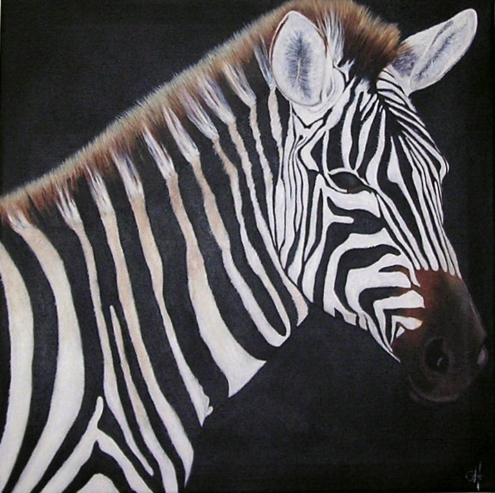 Zebra time | Maleri