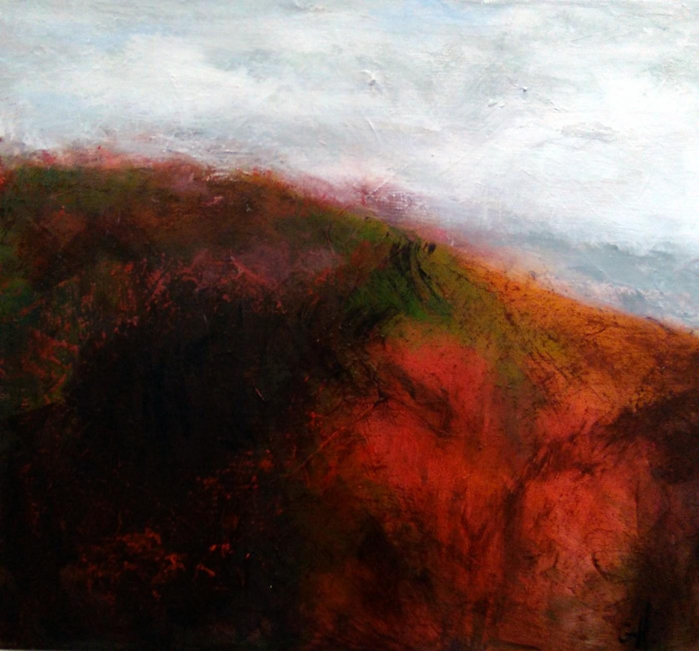 Autumn in red | Maleri