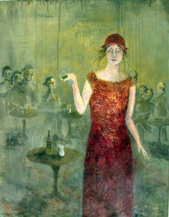 Ups, too much absinthe | Maleri