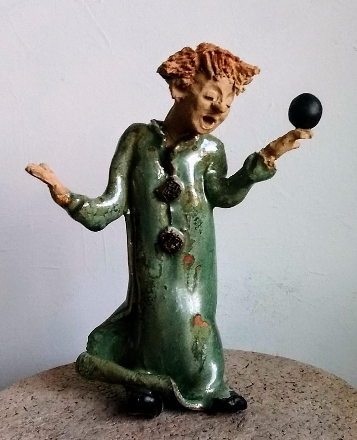 Green clown | Keramik
