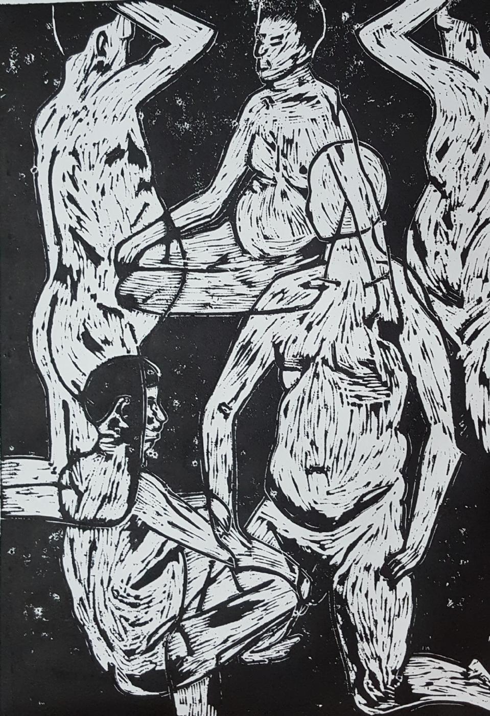 'Den bløde mand' | Maleri