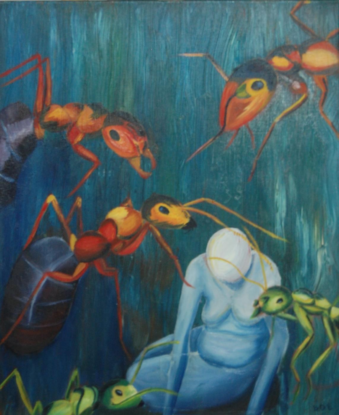 Menneskets skrøbelighed | Maleri