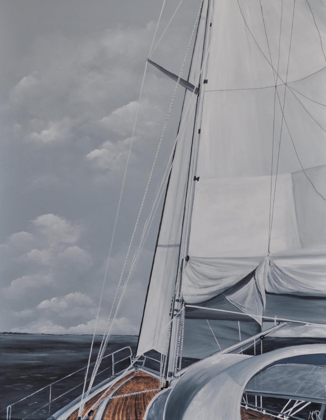 Going to sea nr 2 | Maleri