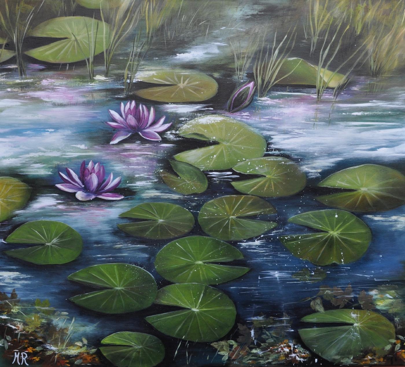 skovsøen nr 3 | Maleri