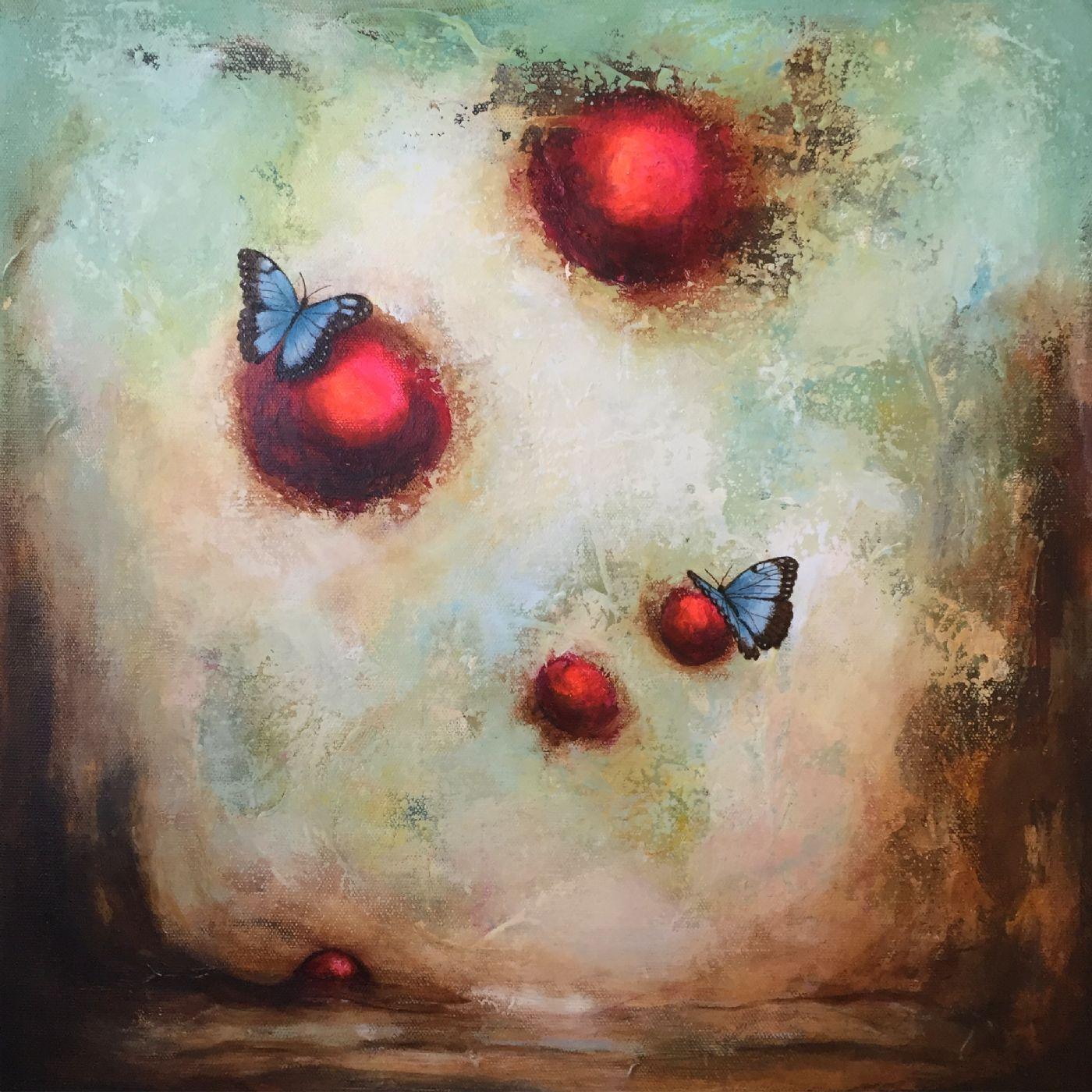 You give me butterflies - II | Maleri