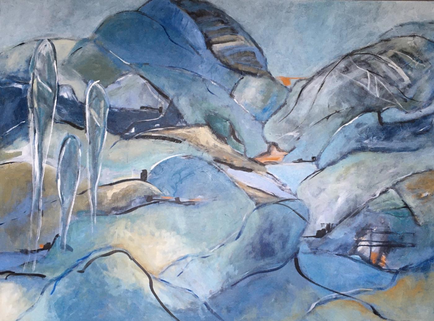 Cleft | Maleri