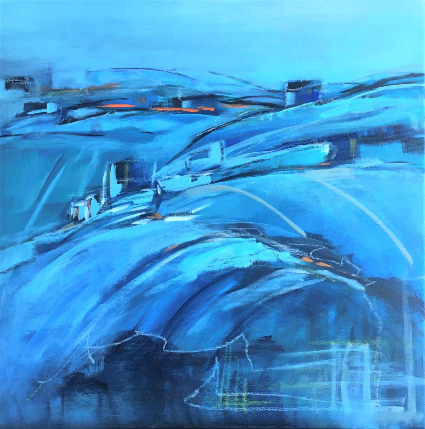 Les collines | Maleri