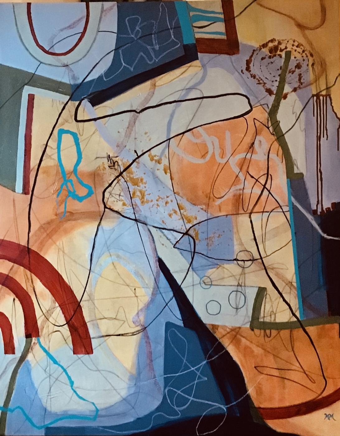 Fragments 4 | Maleri
