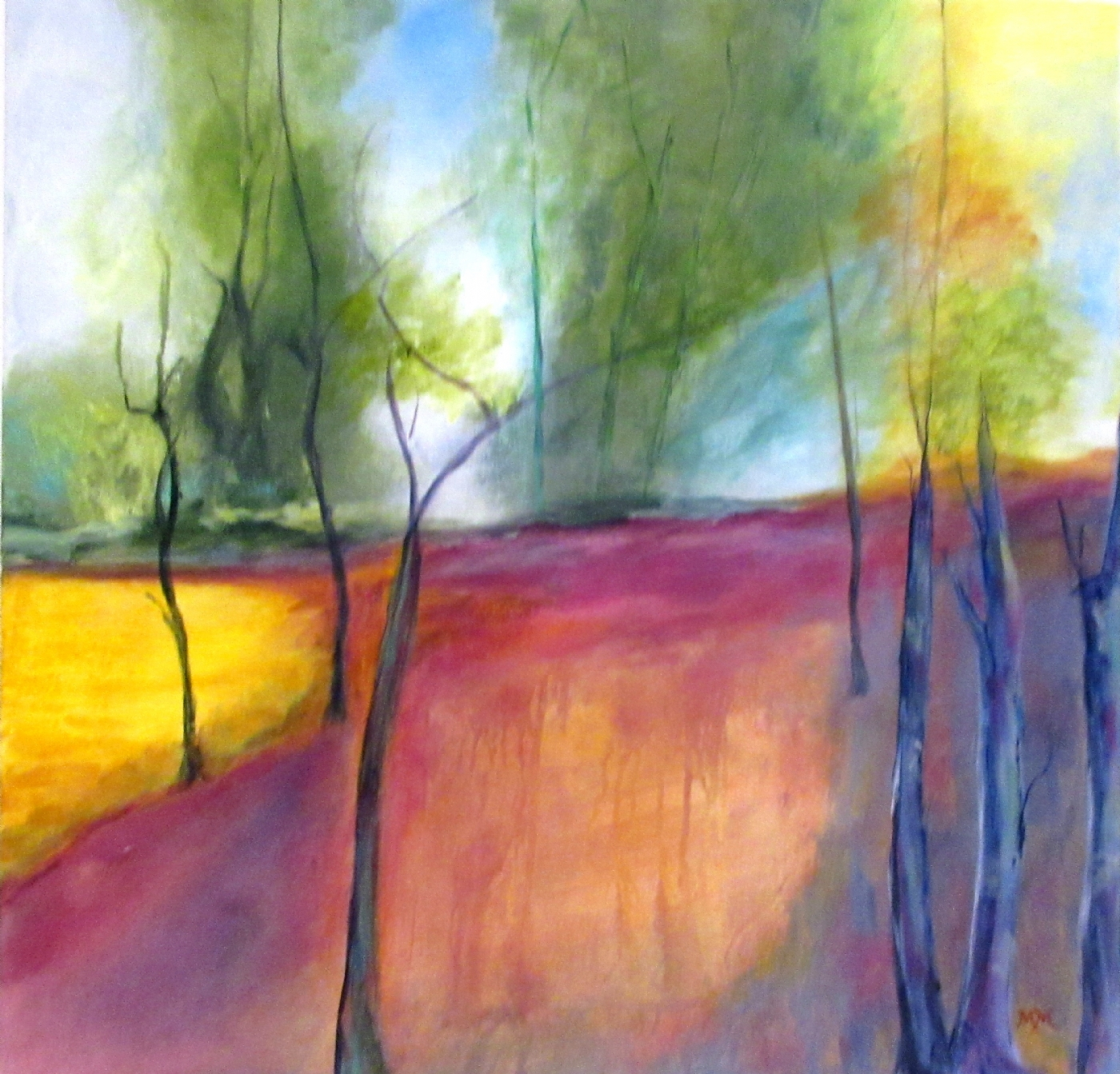 Trees 2   Maleri