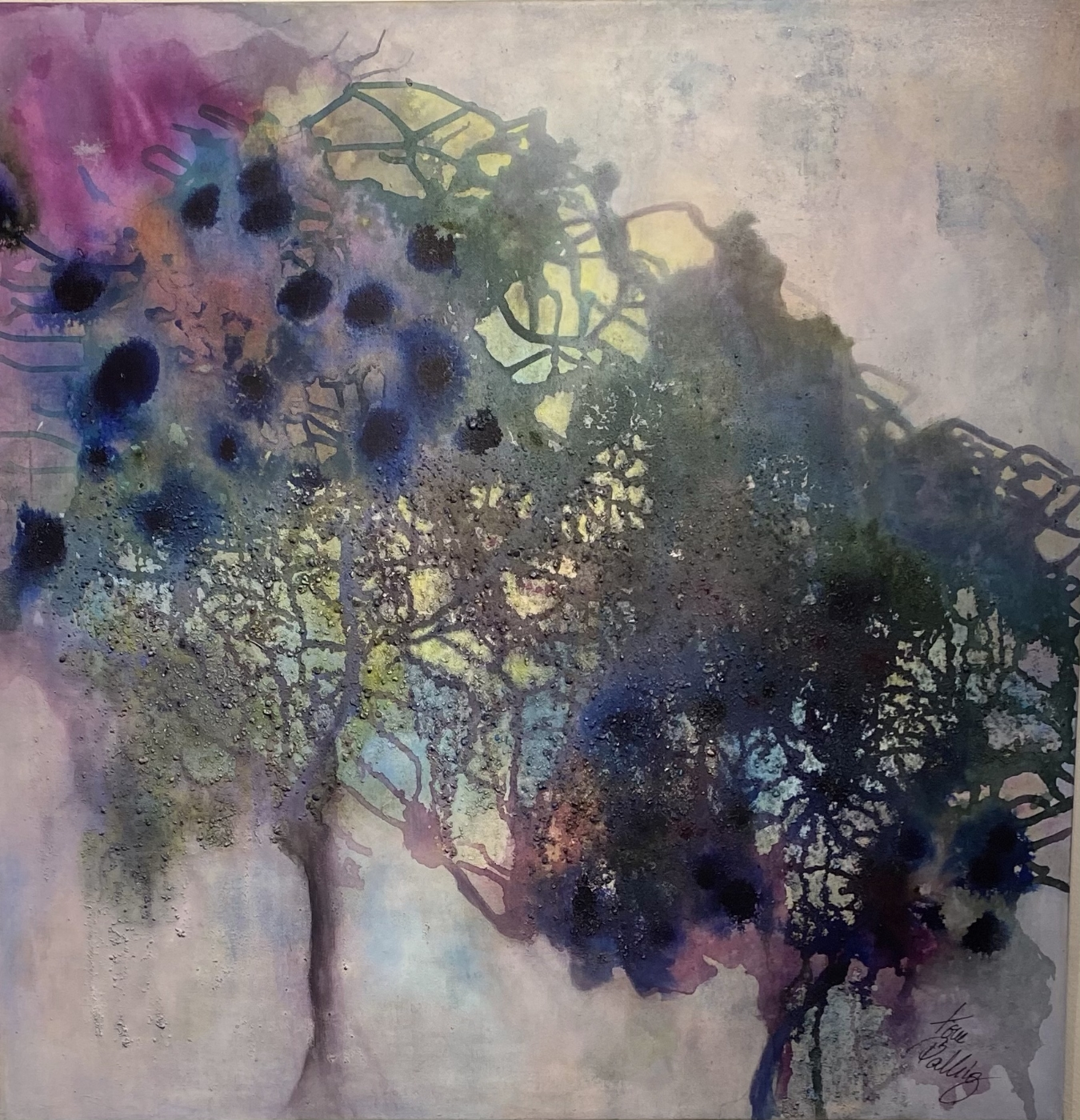 Purple dream | Maleri