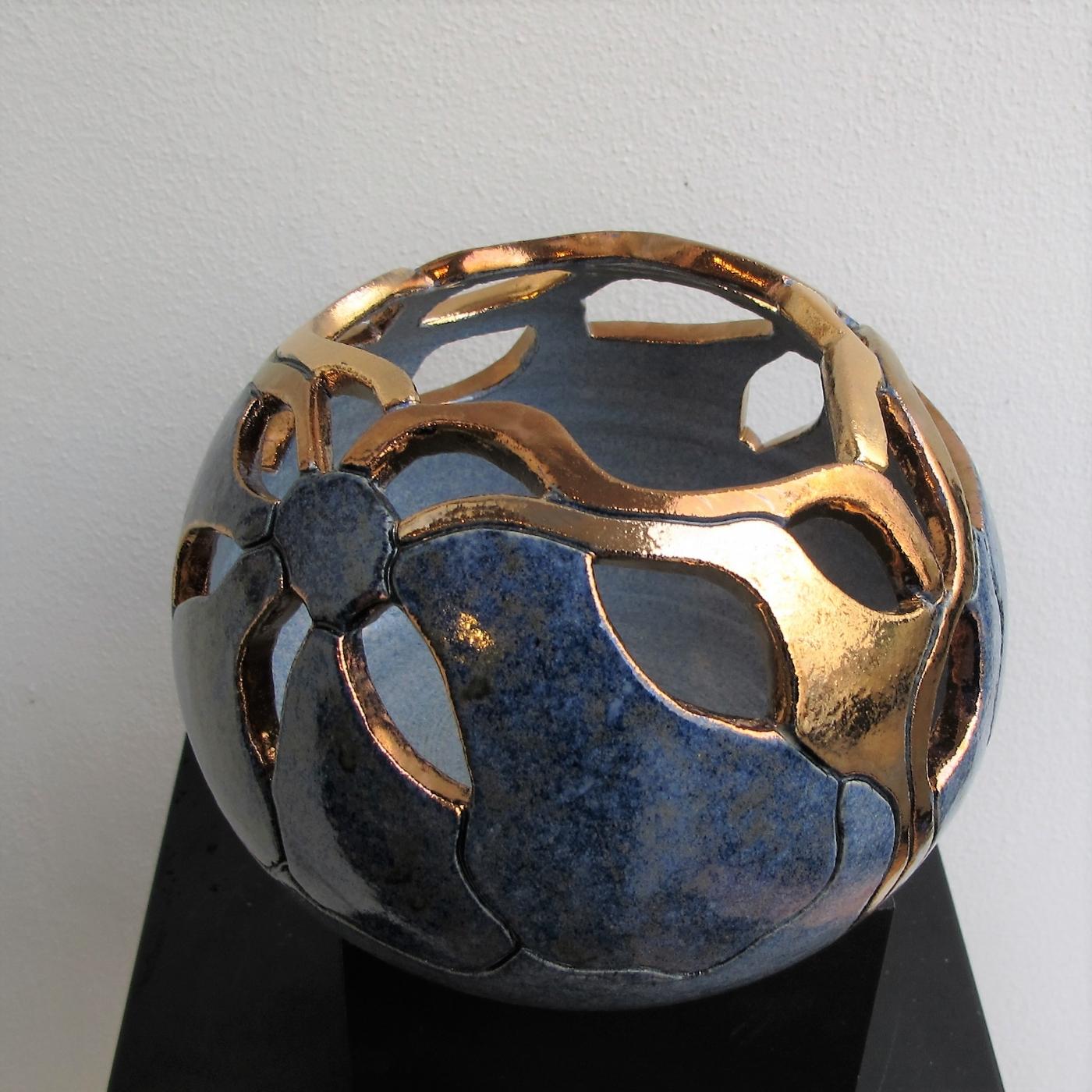 mellem gobbel gennembrudt m. metal | Keramik