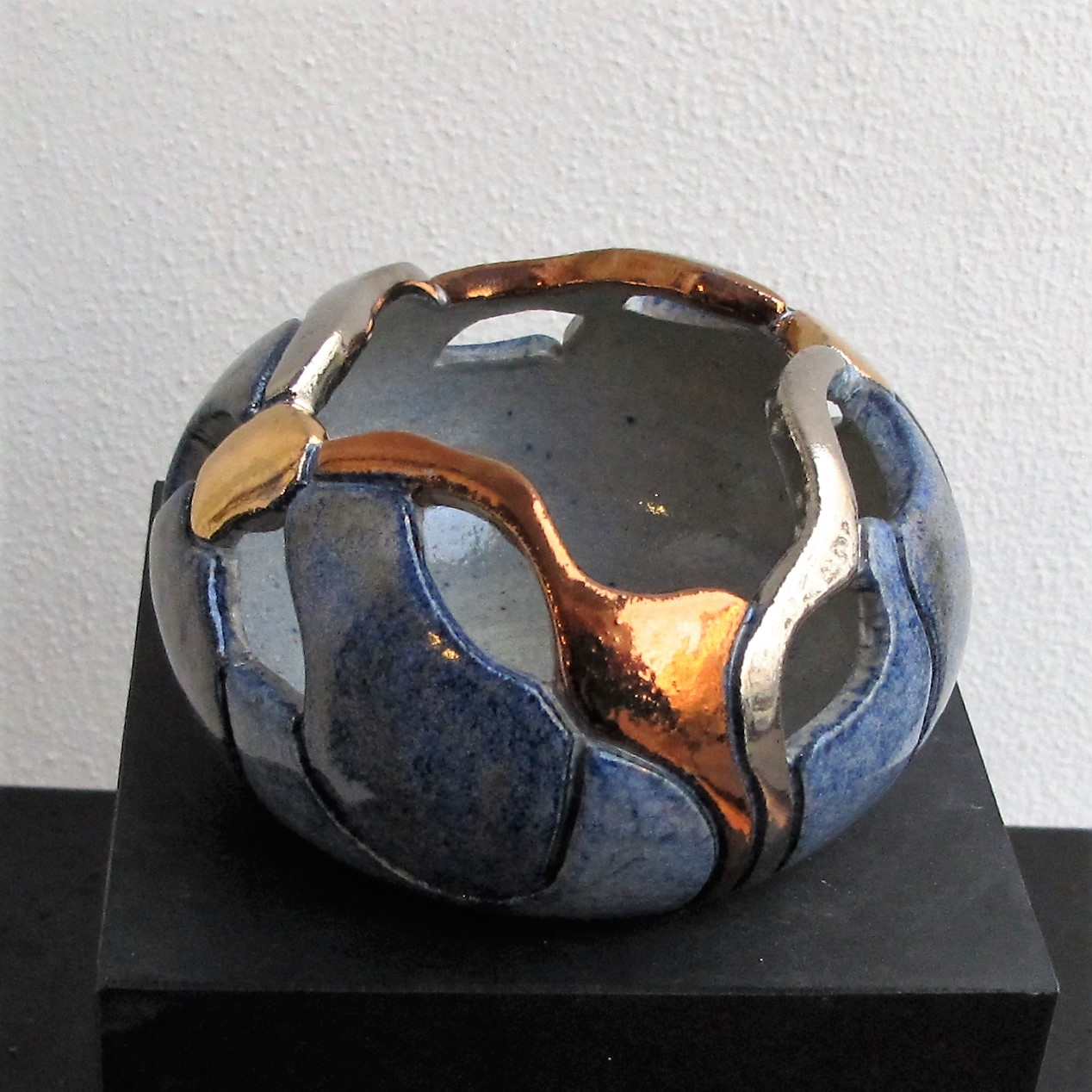 lille gobbel gennembrudt m. metal | Keramik