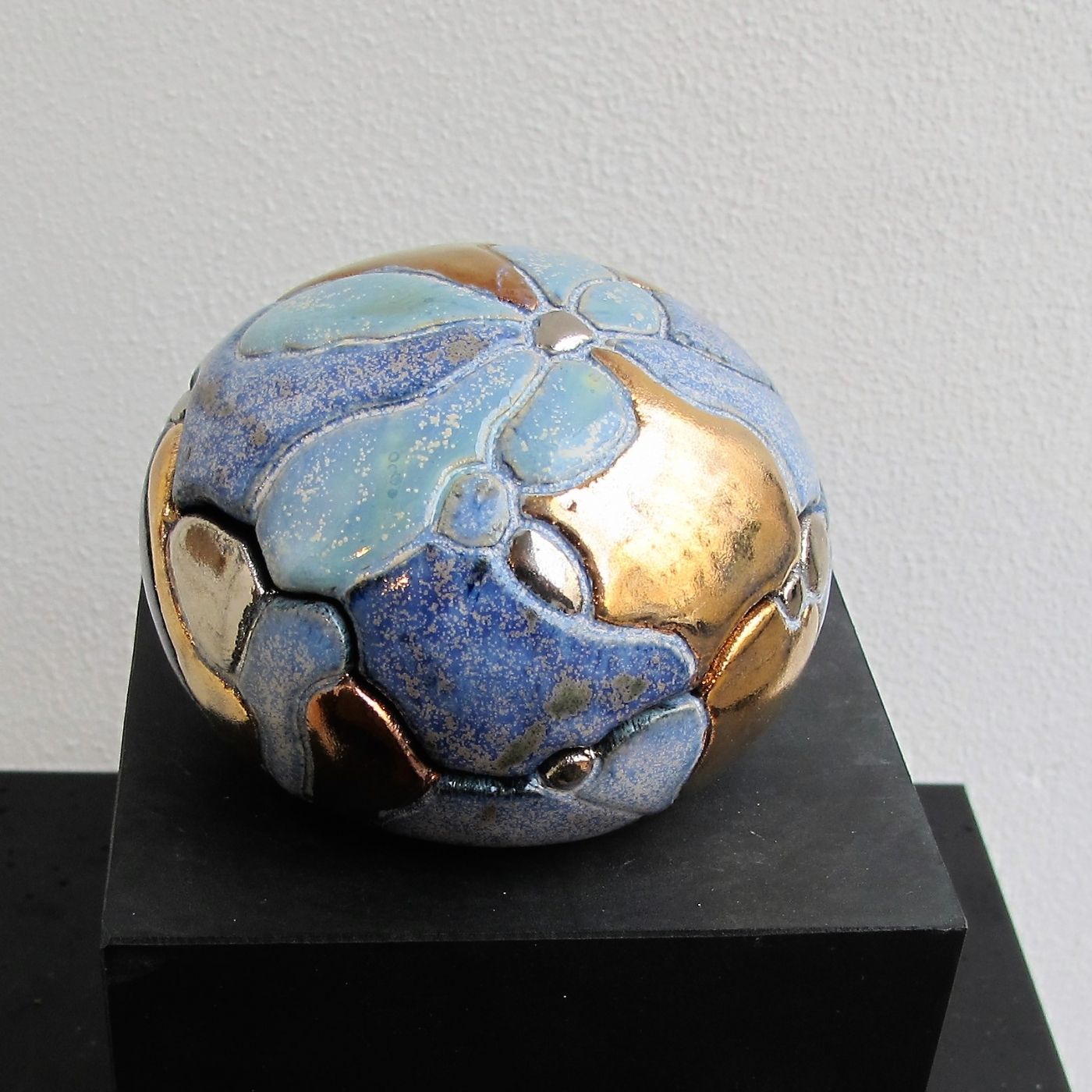 lille gobbel  to-delt m. metal | Keramik