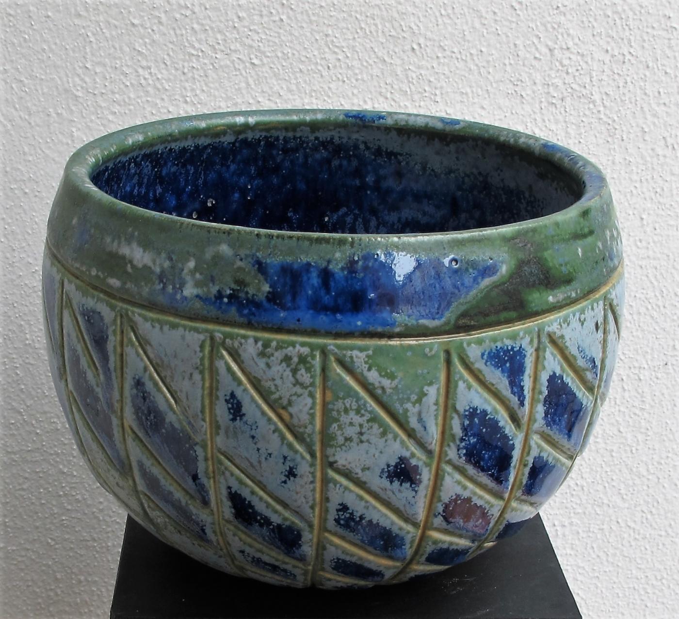 buttet krukke uden metal | Keramik