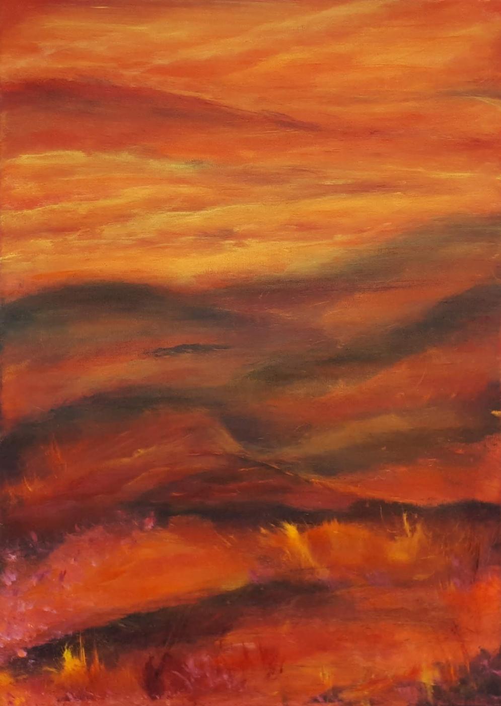 Stille aften | Maleri