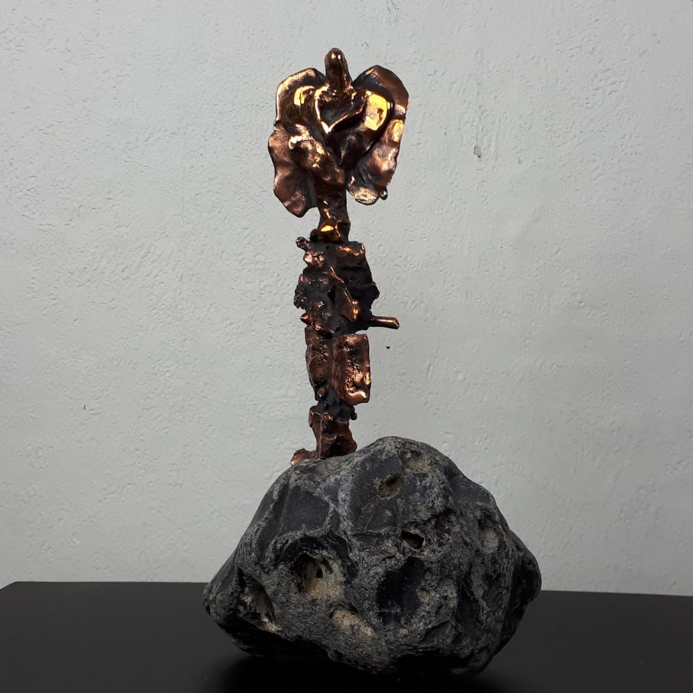 Kork Elme Englen | Skulptur