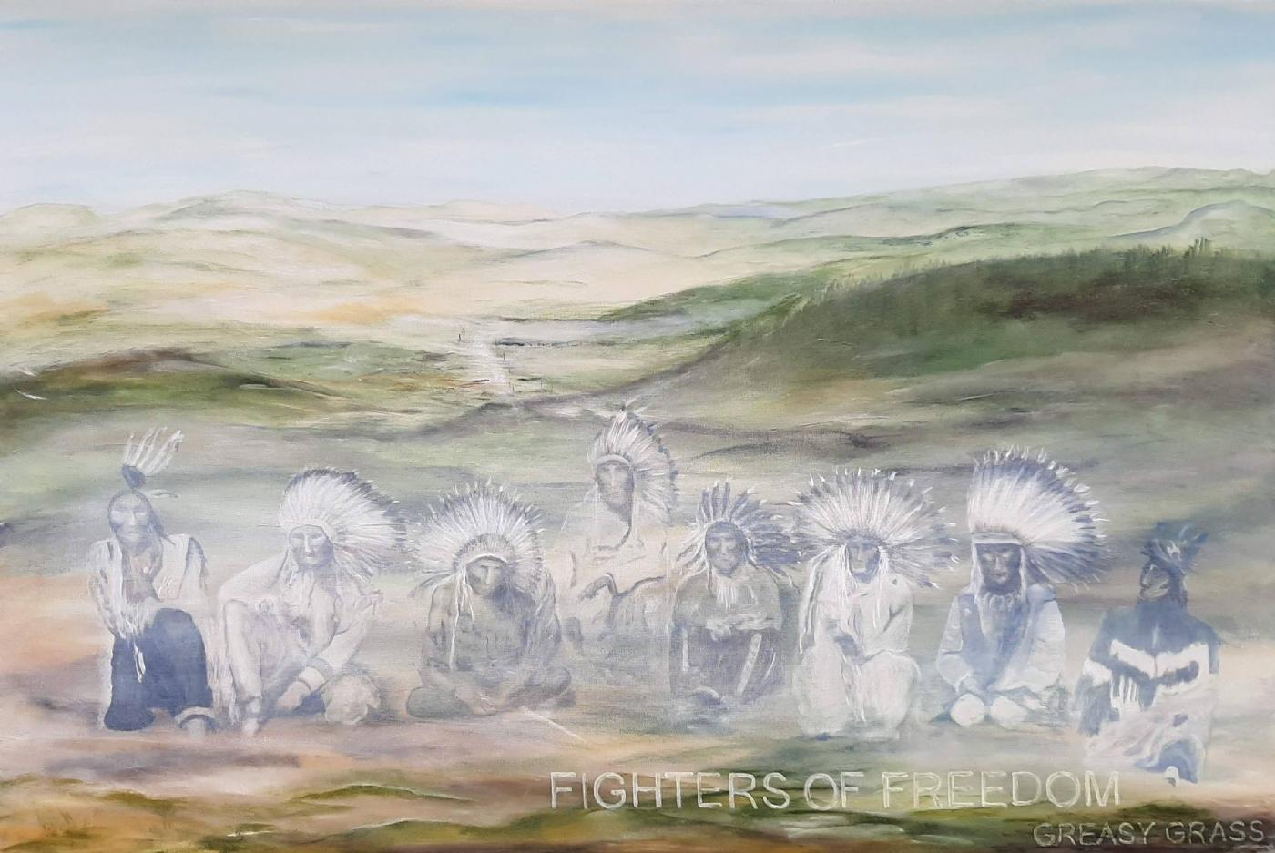Fighters of freedom. | Maleri