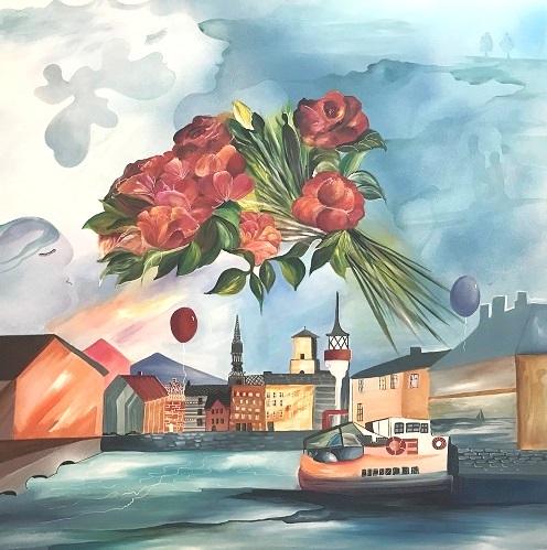 Copenhagen dreaming | Maleri
