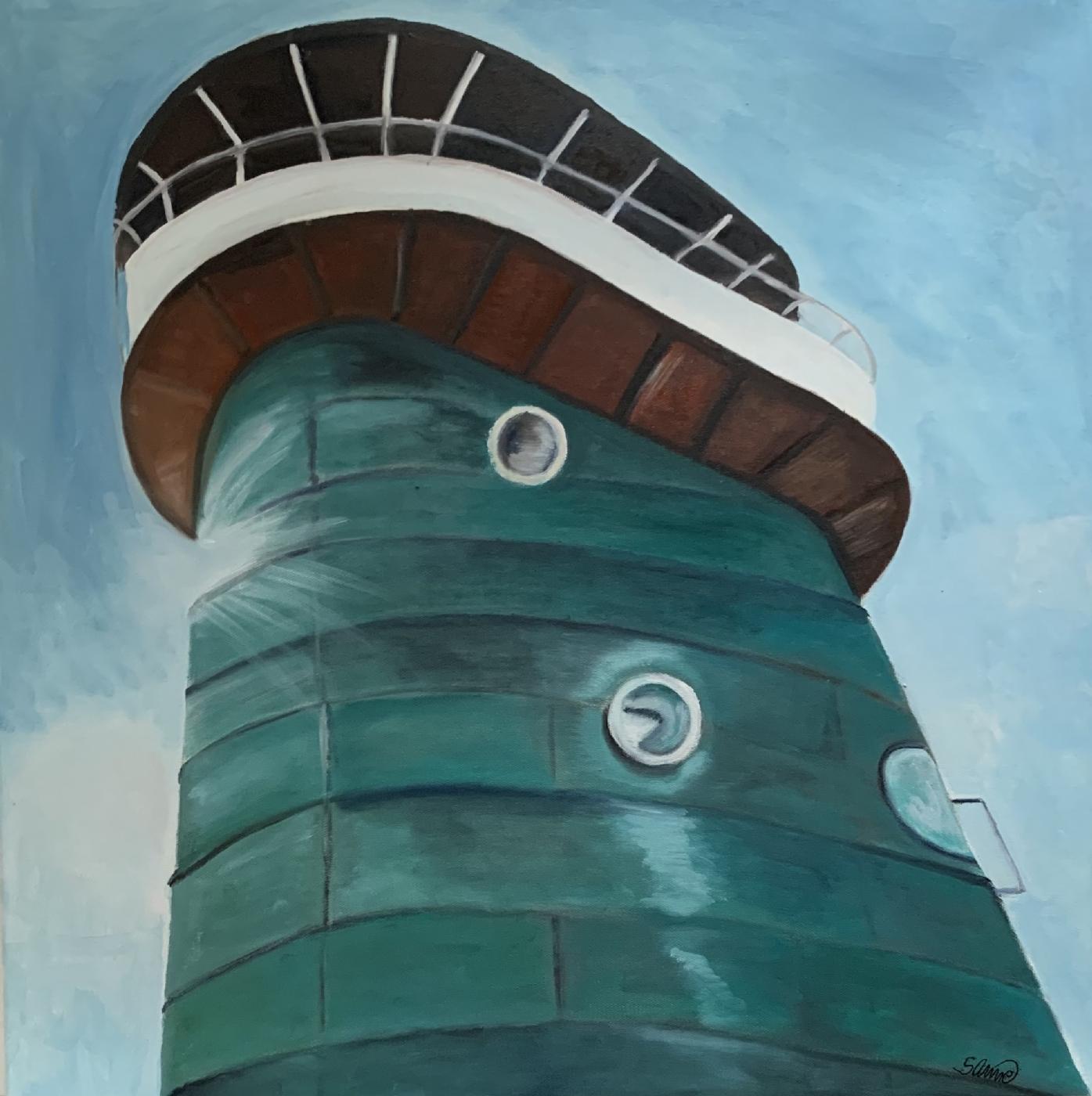 Brotårnet på Knippelsbro | Maleri
