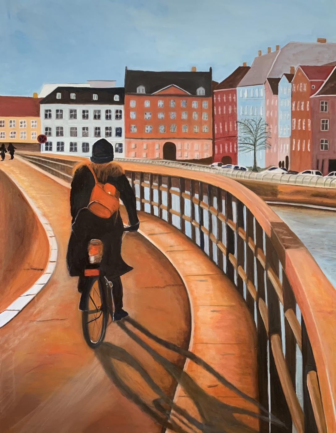 På vej hjem | Maleri