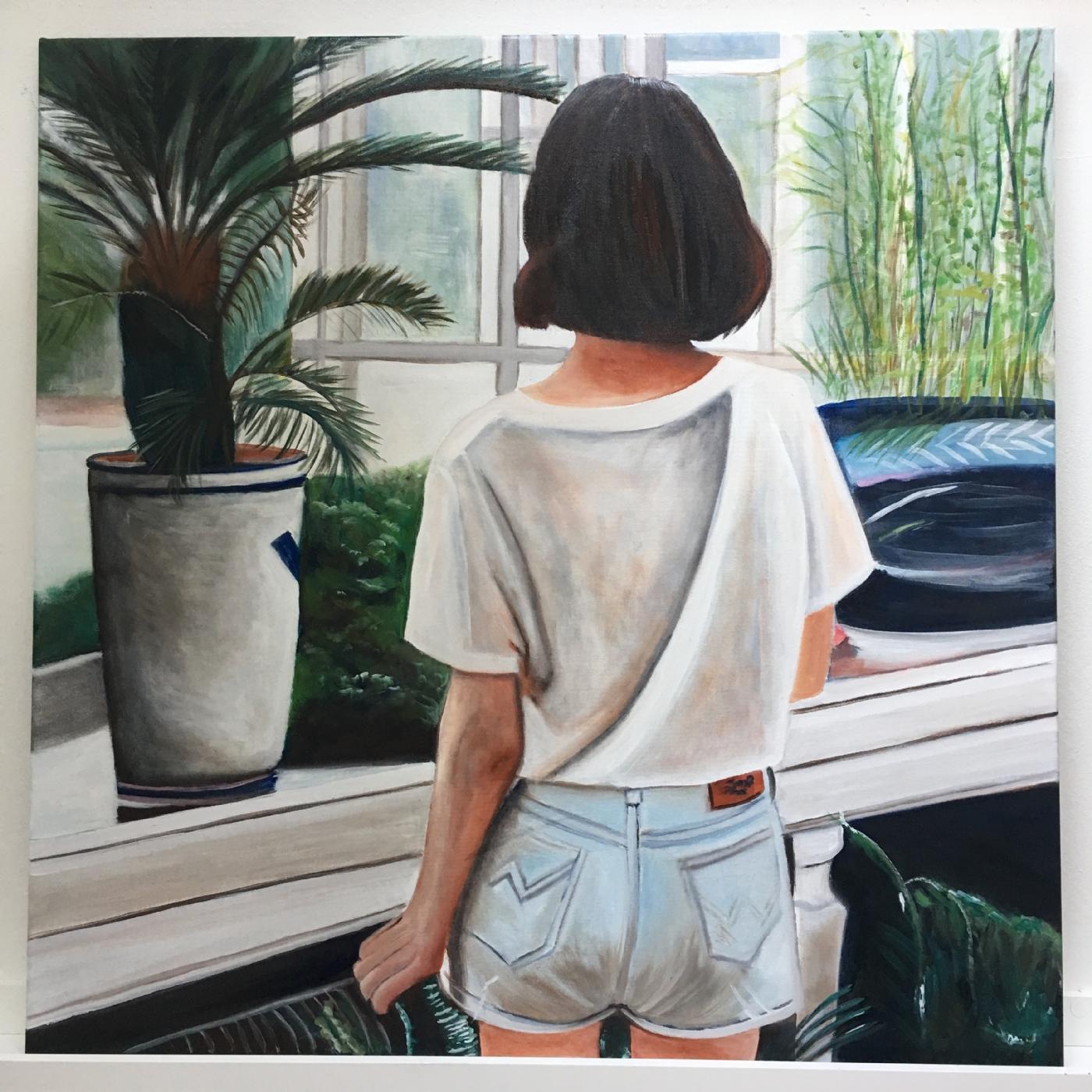 I mit orangeri | Maleri