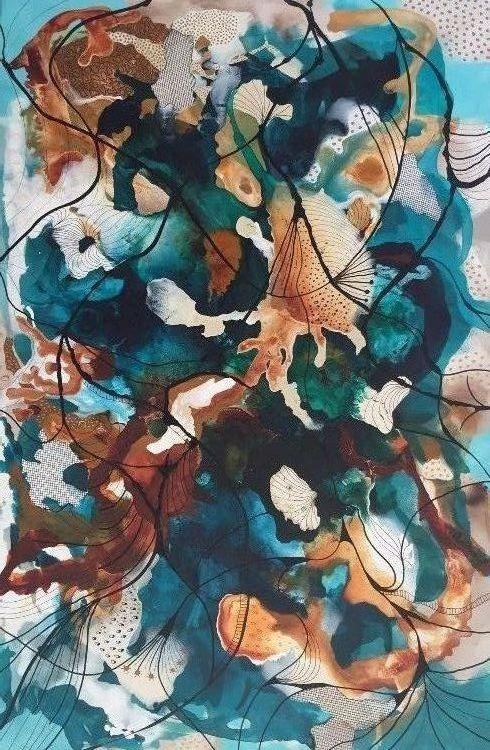 Coral 4 | Maleri