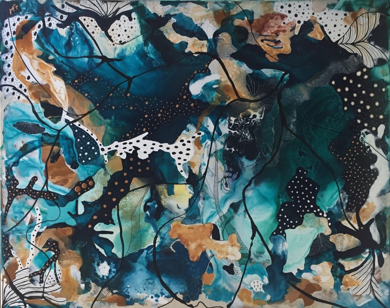 Coral 10 | Maleri