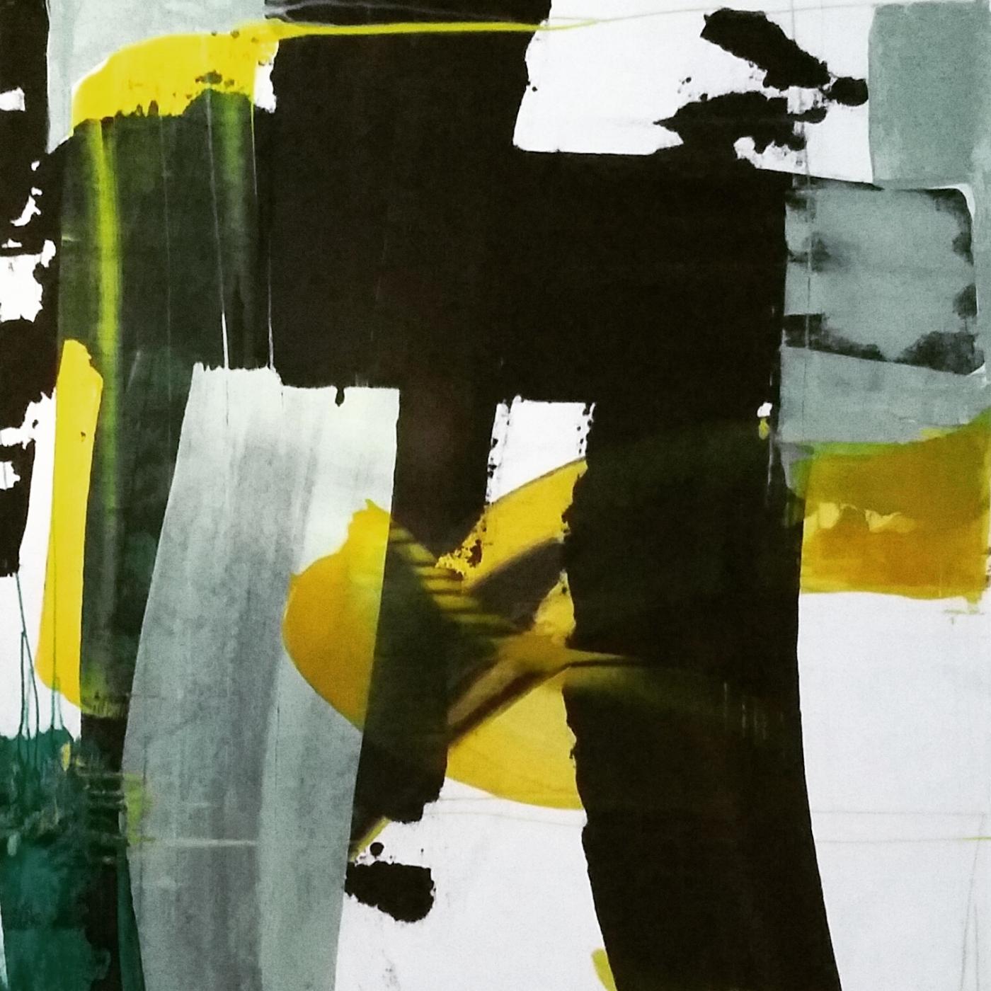 Eksperimenterende fragmenter    Maleri