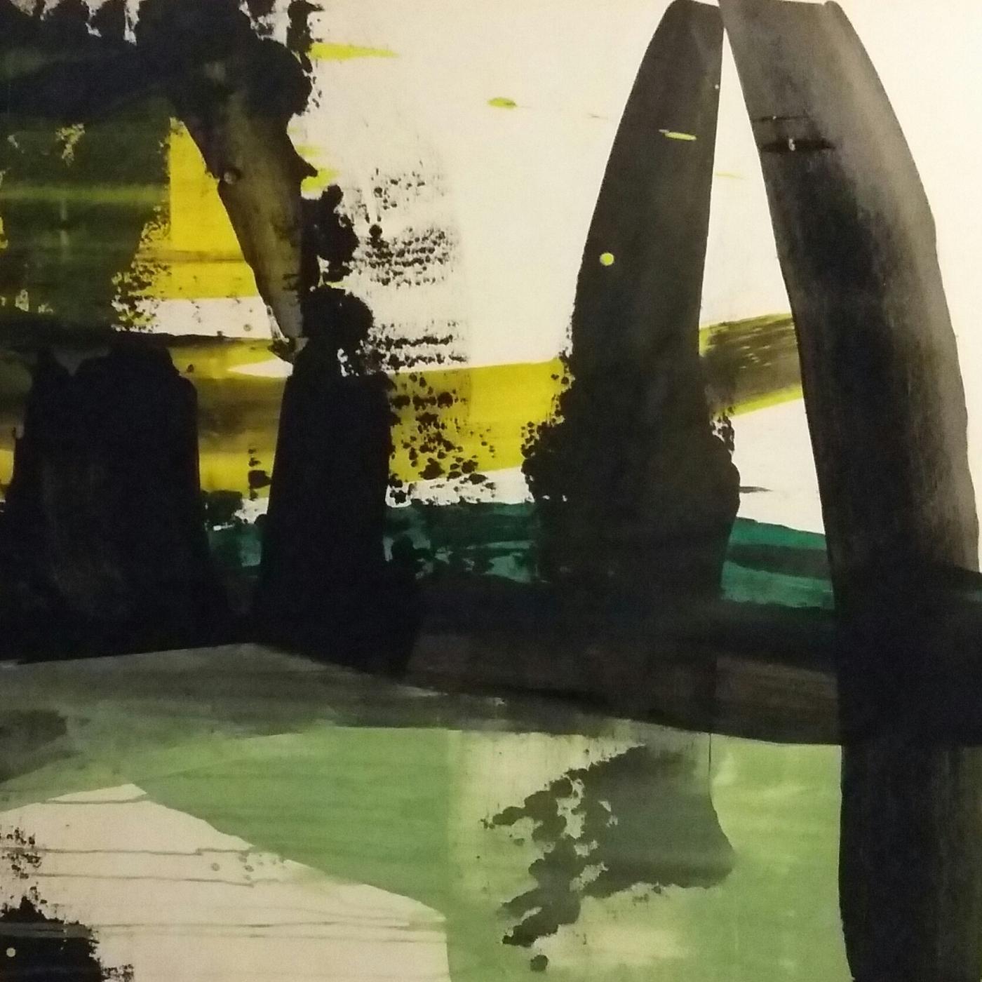 Eksperimenterende fragmenter.    Maleri