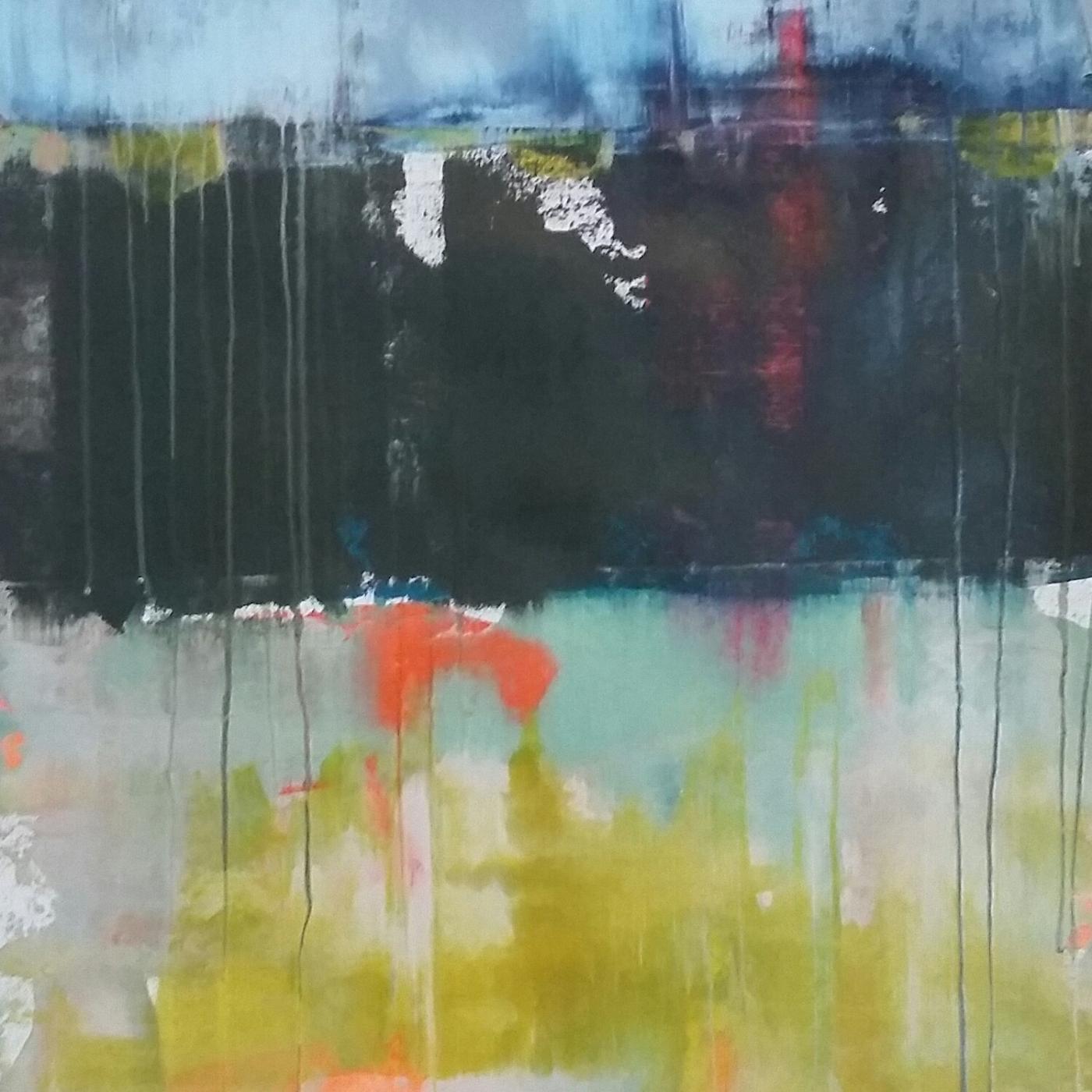 Det abstrakte landskab 1 | Maleri