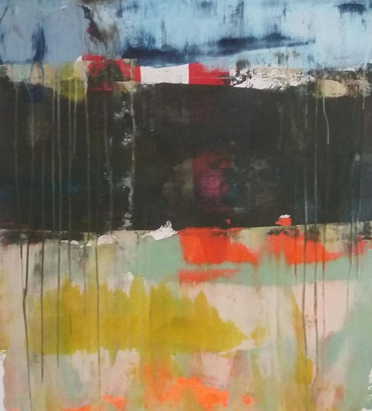 Det abstrakte landskab 2 | Maleri