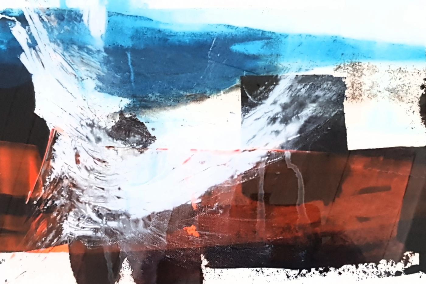 Landskabs abstraktioner  | Maleri