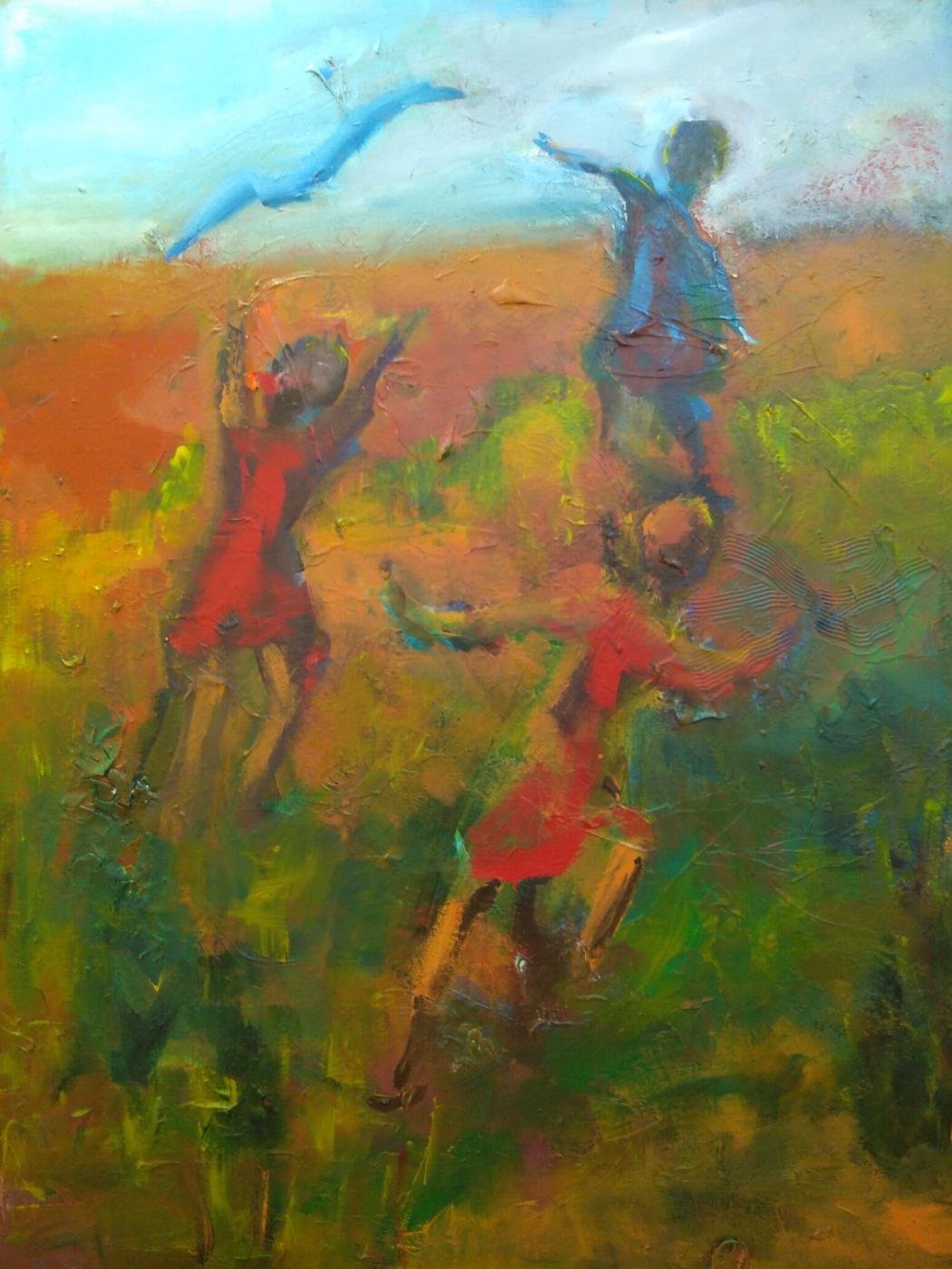 Glæden | Maleri