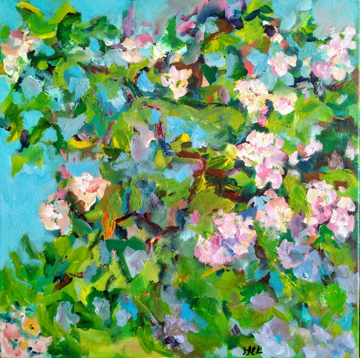 Forår, blomstre | Maleri