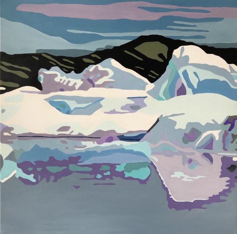 Gletcher Lagune | Maleri