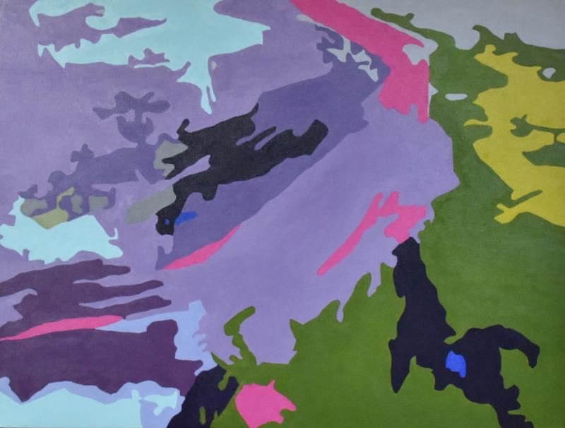 Vulkanens Vej | Maleri