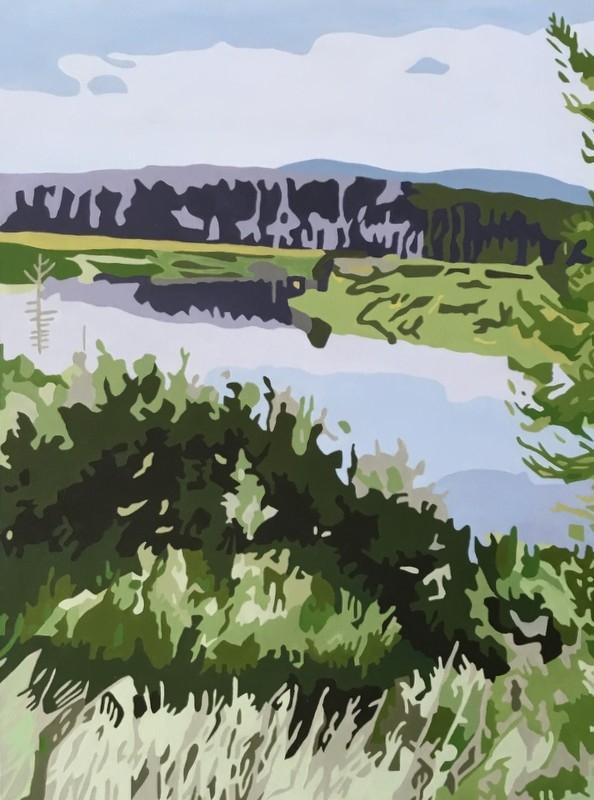 Teton Nationalpark | Maleri