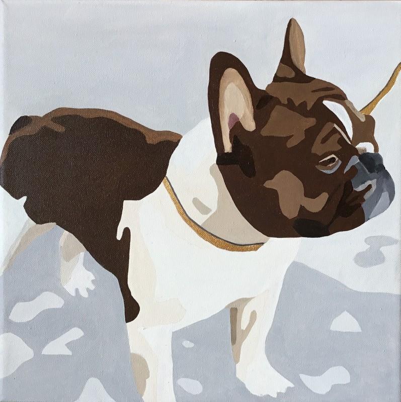 Luksus Hunden | Maleri