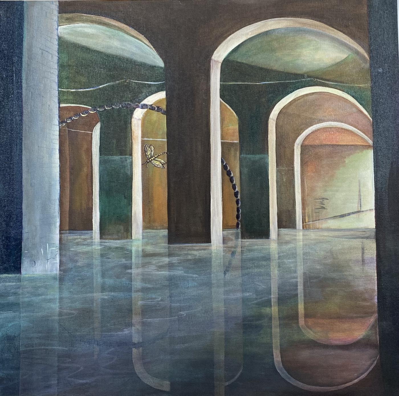 Lyset drager I | Maleri