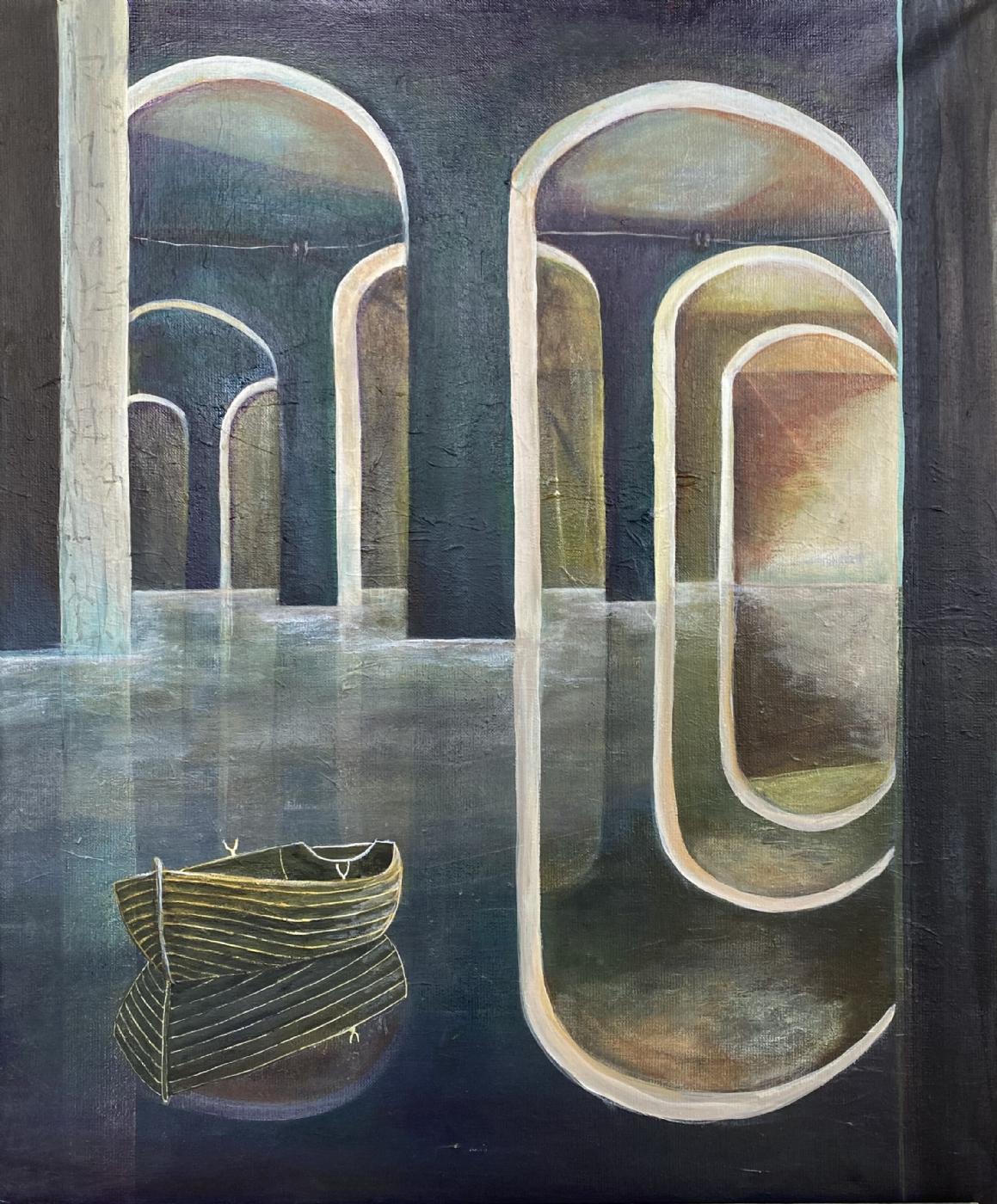Lyset dragerII | Maleri