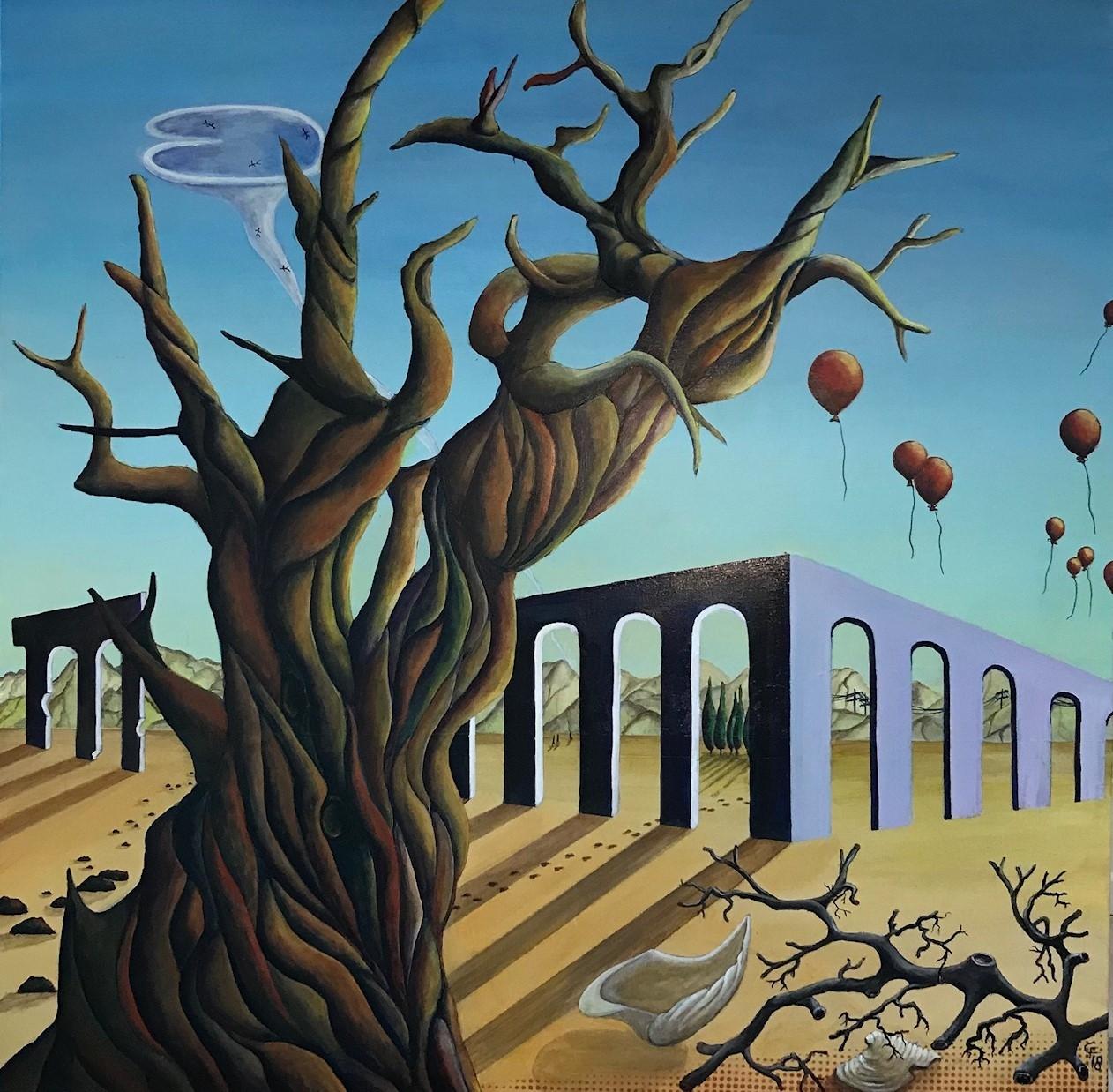 The tale of a tree... | Maleri