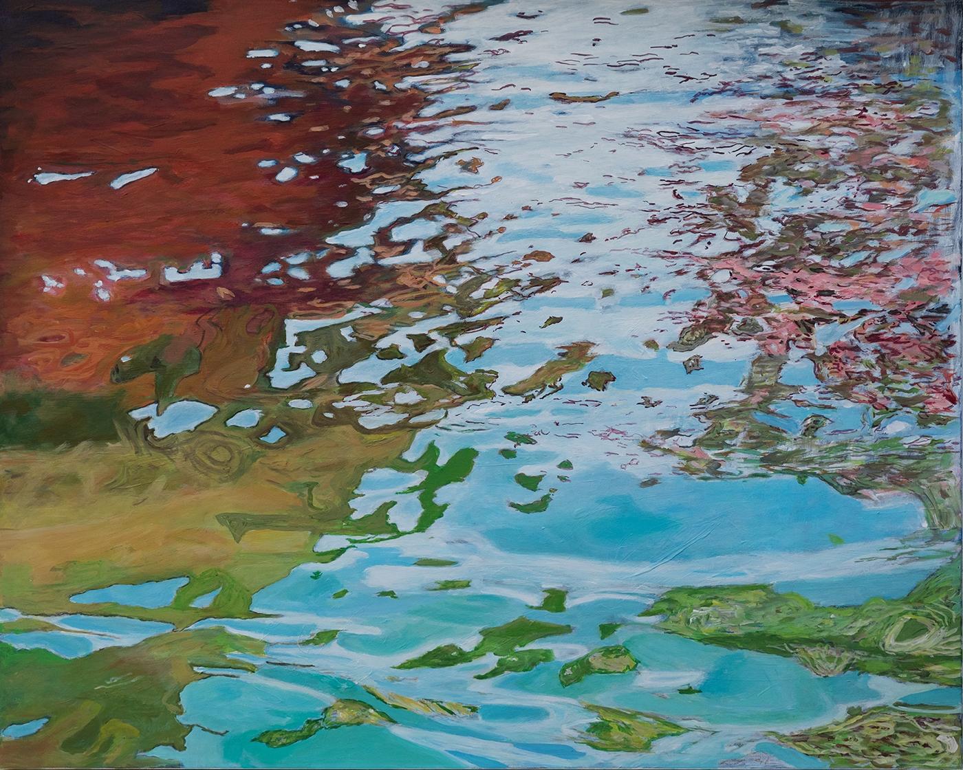 Water reflections in Venice 2 | Maleri