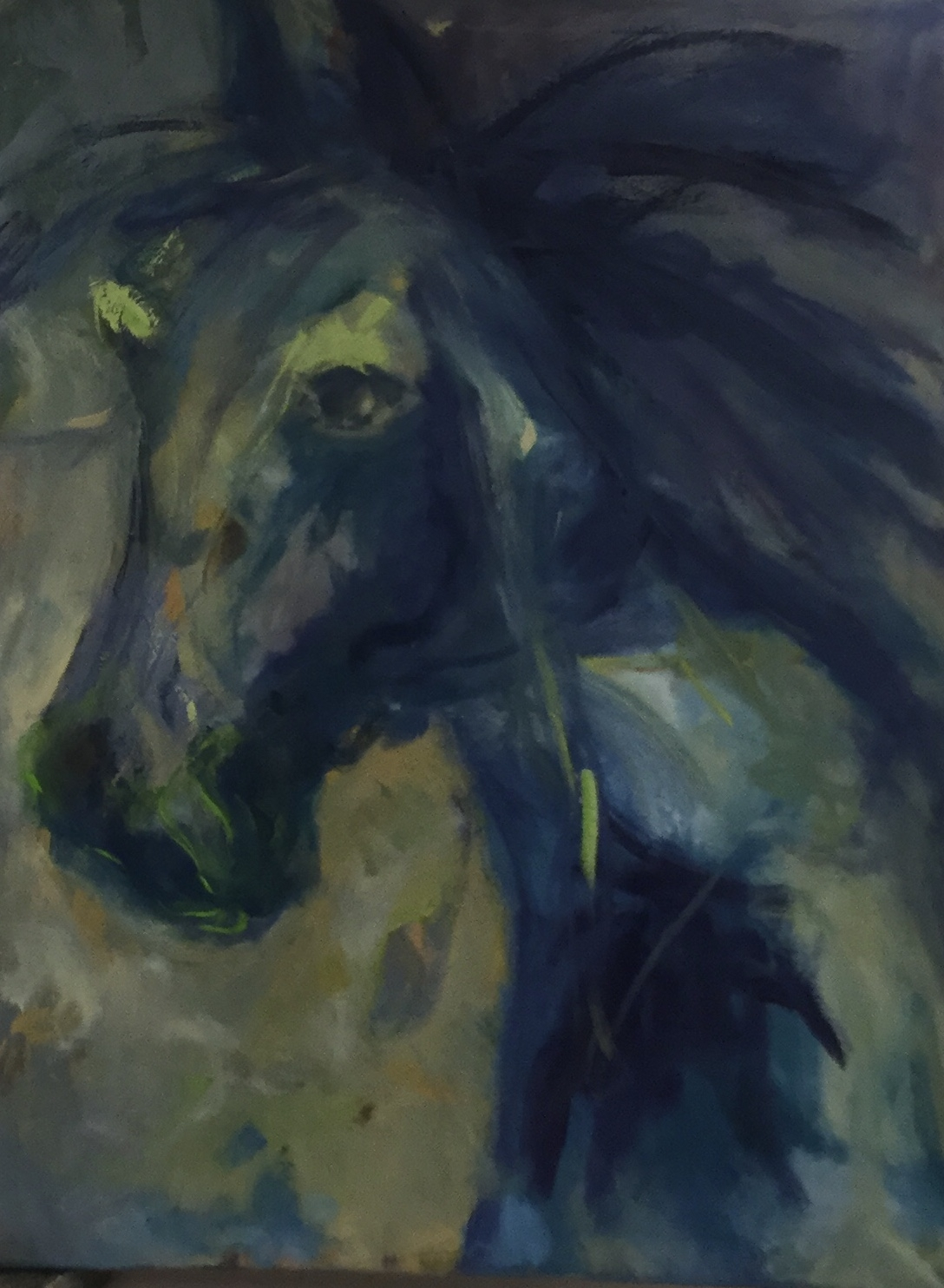 Hest | Maleri