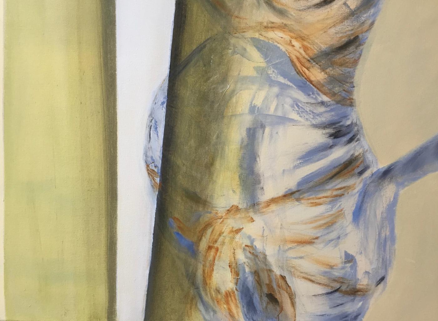 Gravid pige | Maleri