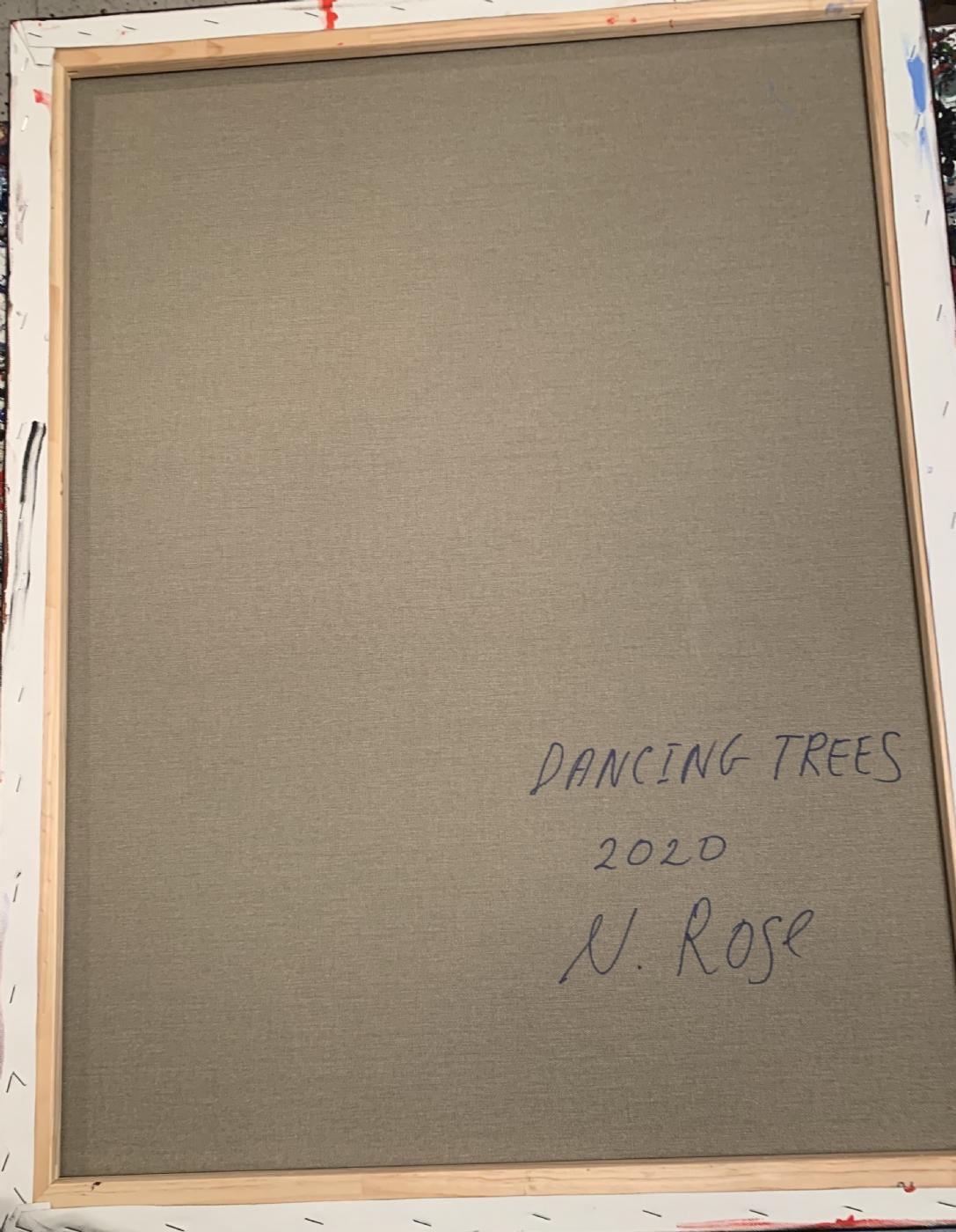 Dancing Trees, 2020 | Maleri | Detail 1