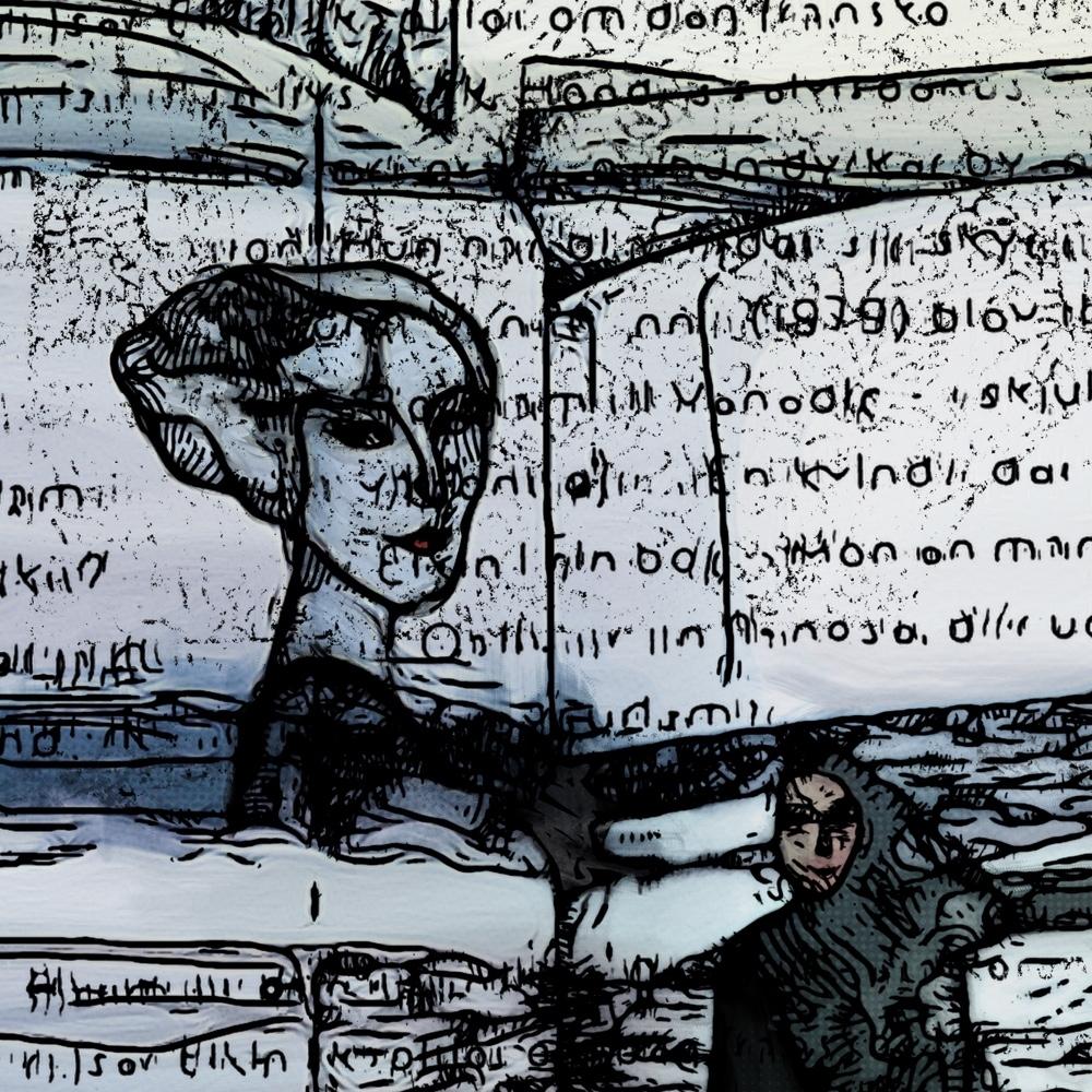 Kvinderne  ved havet | Tegning | Detail 1