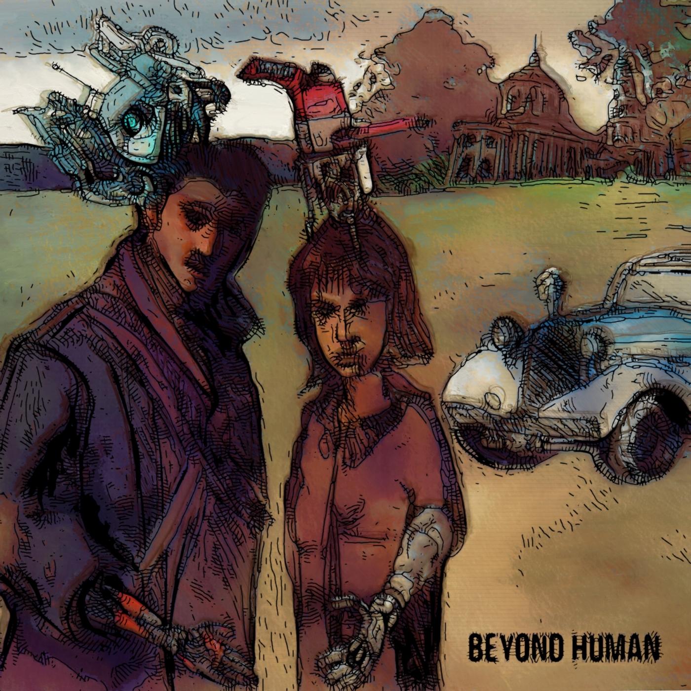 Beyond human | Tegning | Detail 1