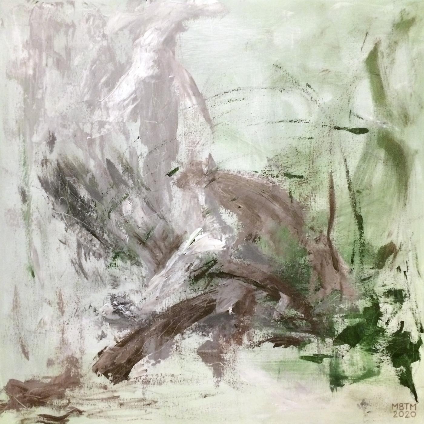 Langs med | Maleri