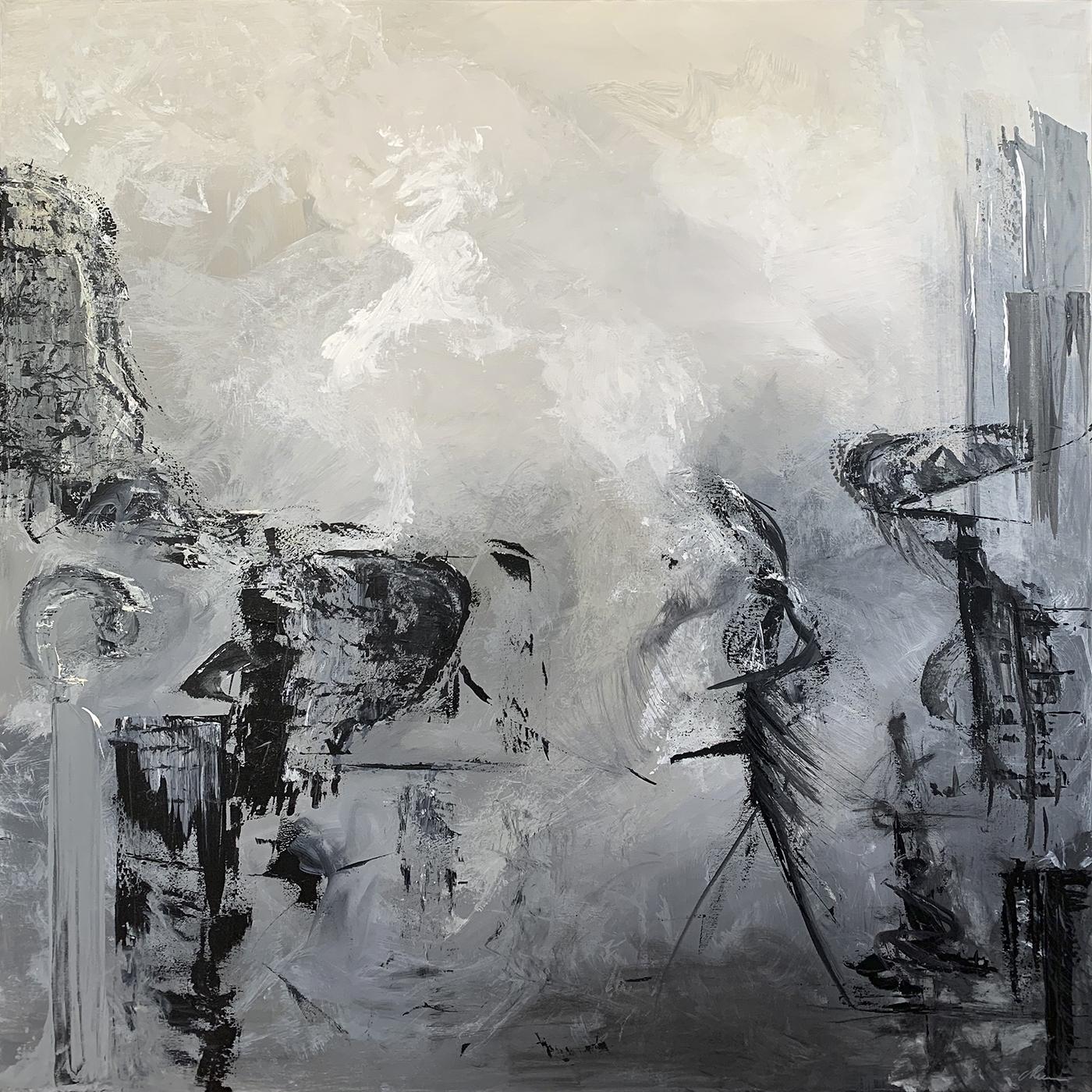 Verden Mødes | Maleri